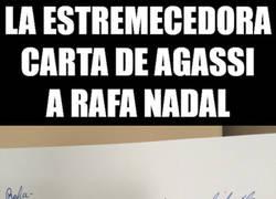 Enlace a La carta de Agassi a Rafa Nadal