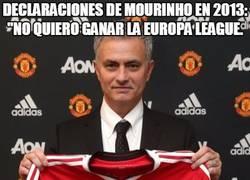 Enlace a ¿Qué hará ahora Mourinho con estas declaraciones sobre la Europa League?