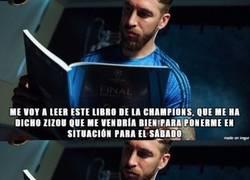 Enlace a Las dudas de Ramos antes de la final de la Champions