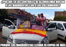 Enlace a ¿Por qué en los controles de alcoholemia multan a los madridistas y no a los colchoneros?
