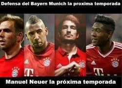 Enlace a Y más en la Bundesliga. Menuda muralla va a tener