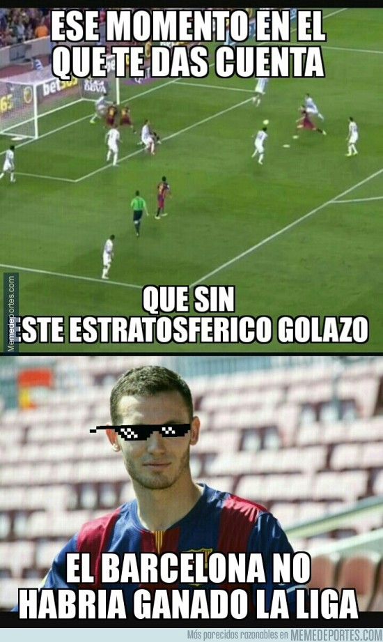 862461 - El gol al Málaga que le dio la liga al Barça
