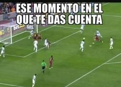 Enlace a El gol al Málaga que le dio la liga al Barça