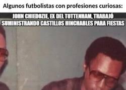 Enlace a 8 futbolistas con profesiones curiosas