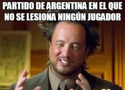 Enlace a Lionel Messi se lesiona en el Argentina frente a Honduras