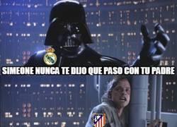 Enlace a Atlético, el Real Madrid es tu padre