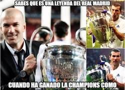 Enlace a Menuda leyenda Zidane con el Real Madrid