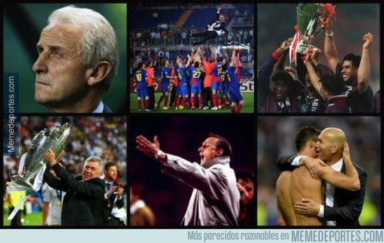 863935 - Zidane se une al selecto grupo de ganadores de Champions como técnico y jugador-#Grande