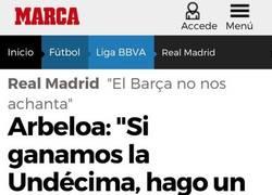 Enlace a La promesa que hizo Arbeloa si ganaban la Champions