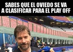 Enlace a Jaime Lannister y el Real Oviedo