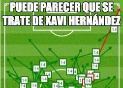 Enlace a Puede parecer que se trate de Xavi Hernández, pero no