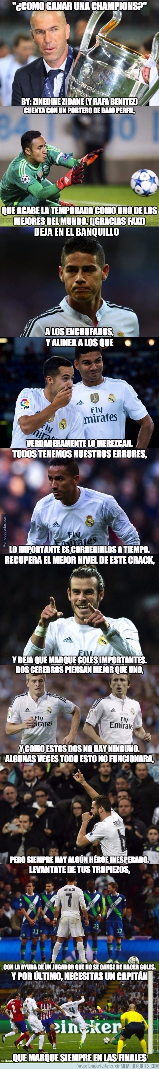 864606 - ¿Cómo ganar una Champions? Zidane te lo explica