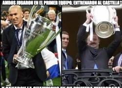 Enlace a Zidane y Del Bosque, tal para cual