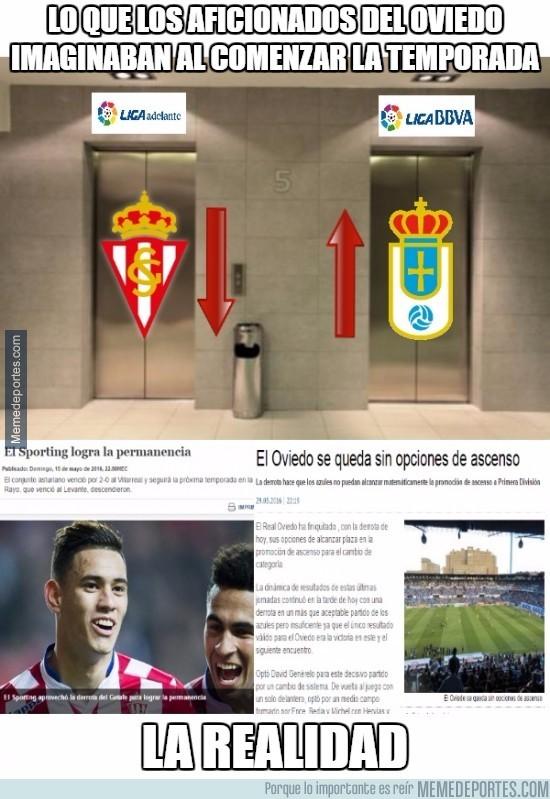 864735 - Lo que los aficionados del Oviedo imaginaban al comenzar la temporada