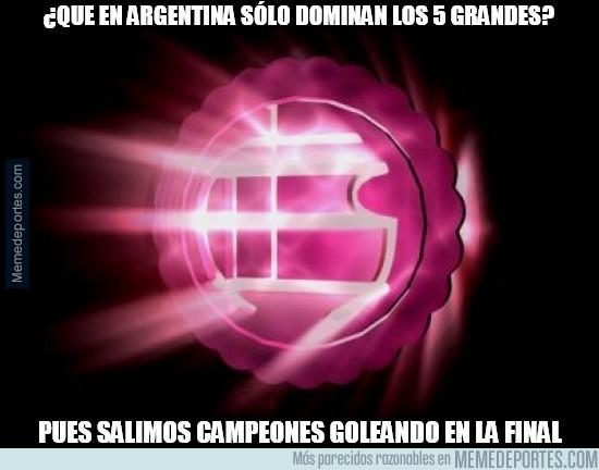 864739 - Lanús golea 4-0 y es campeón de Argentina