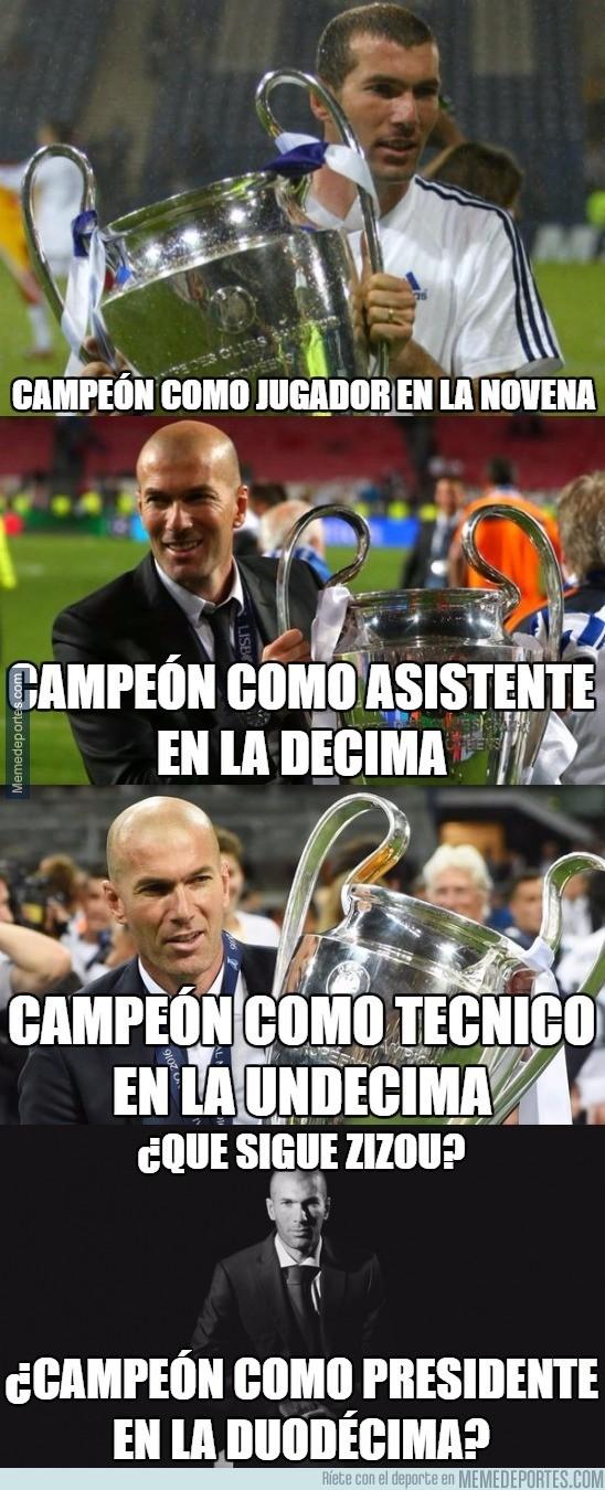 864911 - El ciclo ganador de Zidane en el Real Madrid