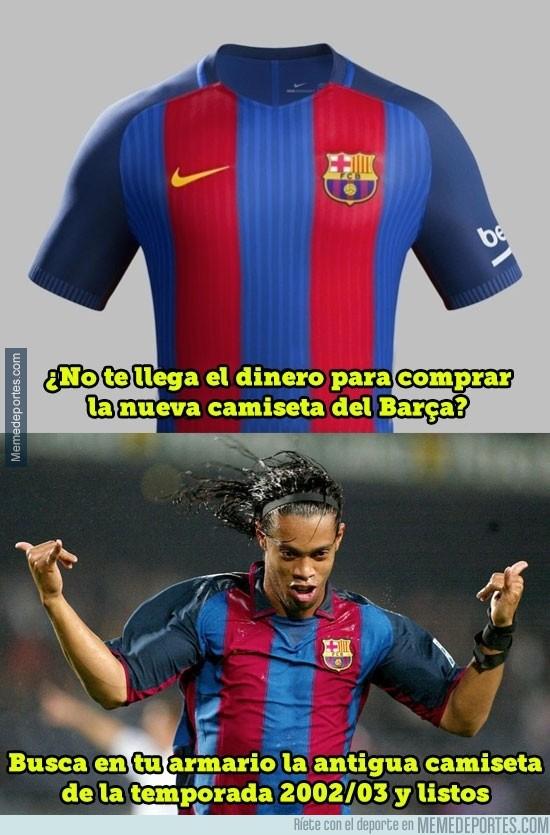 865026 - La inspiración de la nueva camiseta del Barça