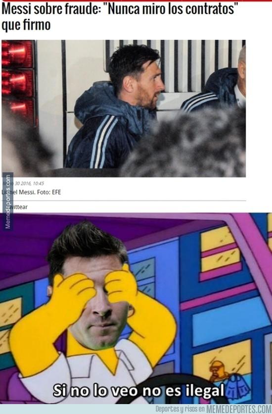 865325 - La declaración de Messi sobre Panamá
