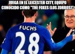Enlace a Juega en el Leicester City, equipo conocido como