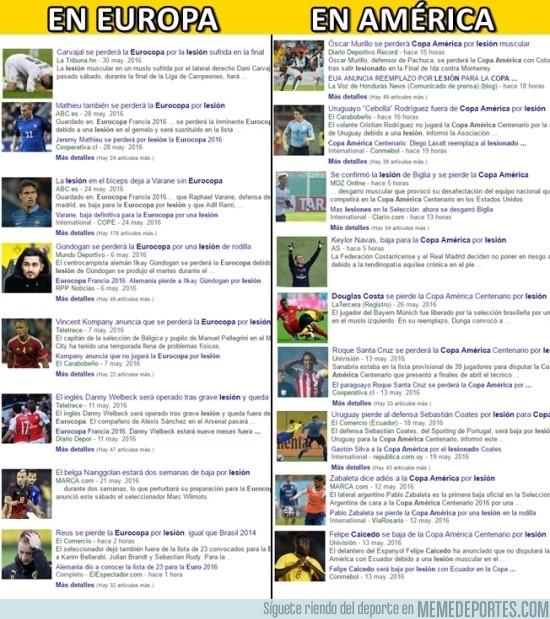 865525 - La interminable lista de lesionados para las selecciones