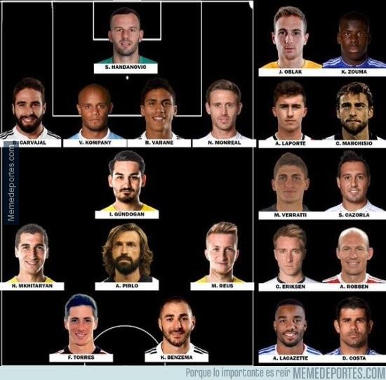 865635 - El equipo de los ausentes en la Euro 2016