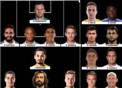 Enlace a El equipo de los ausentes en la Euro 2016