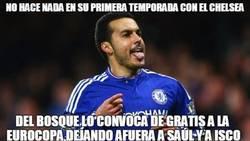 Enlace a Pedro, que vuelve a ser Pedrito, irá a la Eurocopa. Gracias Vicente