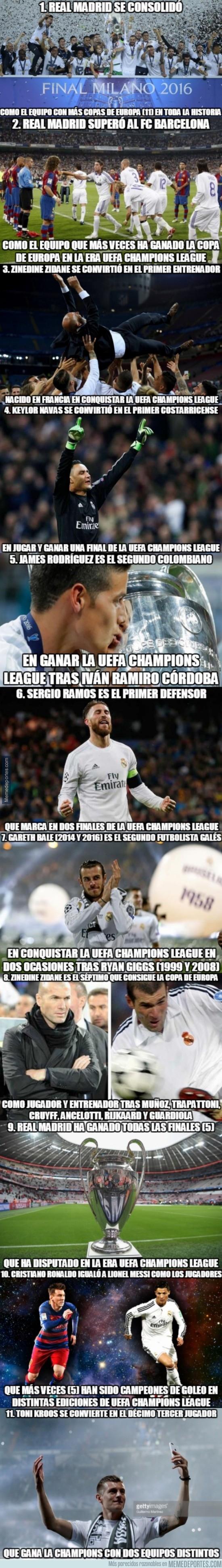 865785 - Historia pura: 11 récords del Real Madrid tras conquistar la Undécima