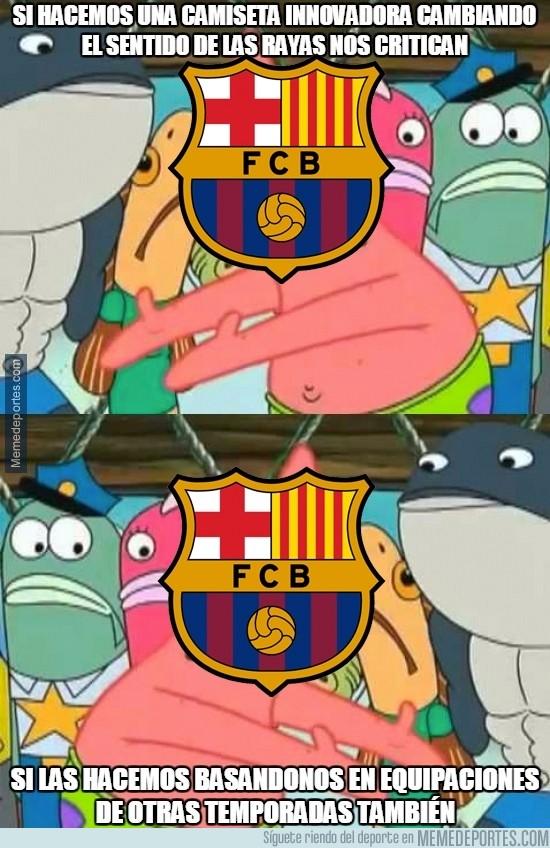 865801 - La nueva camiseta del Barça, cada año lo mismo