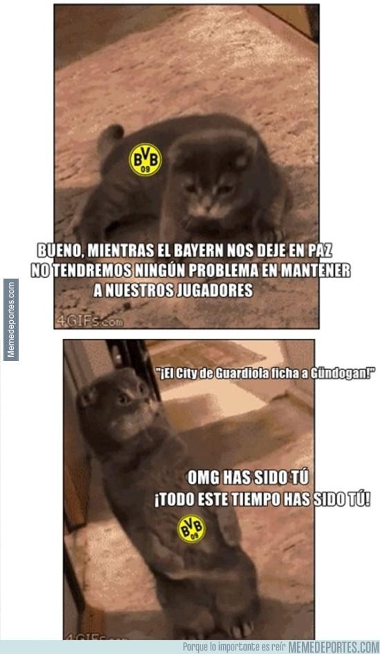 866146 - No era el Bayern el que robaba los jugadores al Borussia