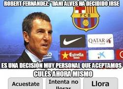 Enlace a OFICIAL: Dani Alves se va del Barcelona