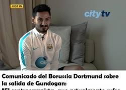 Enlace a El mordaz comunicado del Borussia sobre Gundogan