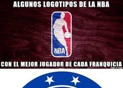 Enlace a Logotipos de la NBA con el mejor jugador de cada franquicia, según Uproxx