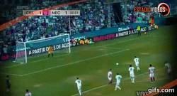 Enlace a Gol de Butragueño en su homenaje con Celaya