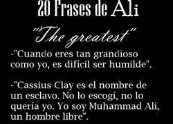 Enlace a 20 frases De Muhammad Ali,