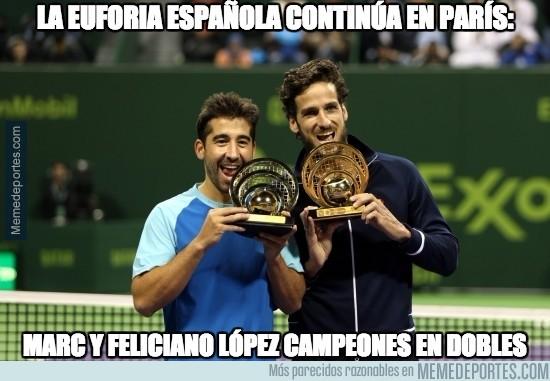 867240 - Menuda tarde para el tenis español