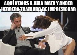 Enlace a Mata y Herrera ya en la lista negra de Mou