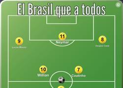 Enlace a Ésta es la alineación que todos queremos ver en el Brasil actual
