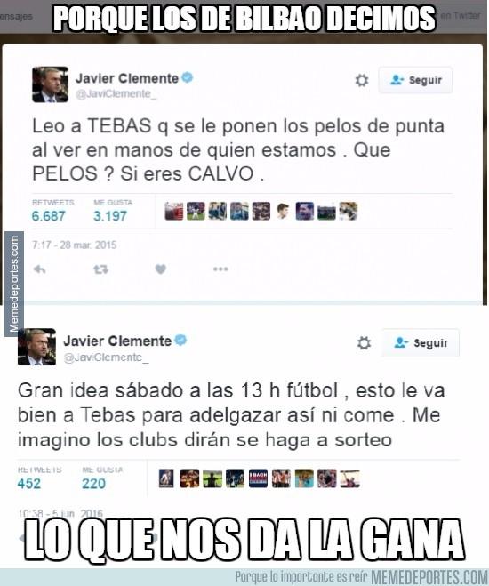 867813 - Javier Clemente la vuelve a liar en Twitter