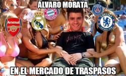 Enlace a Álvaro Morata este verano