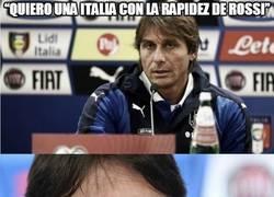 Enlace a Quiero una Italia con la rapidez de Rossi