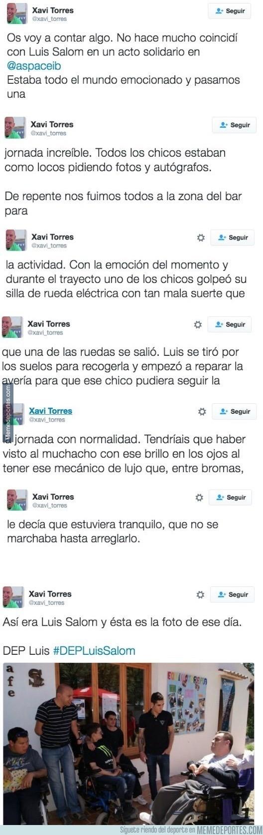 868638 - La bonita historia de Xavi Torres y Luis Salom