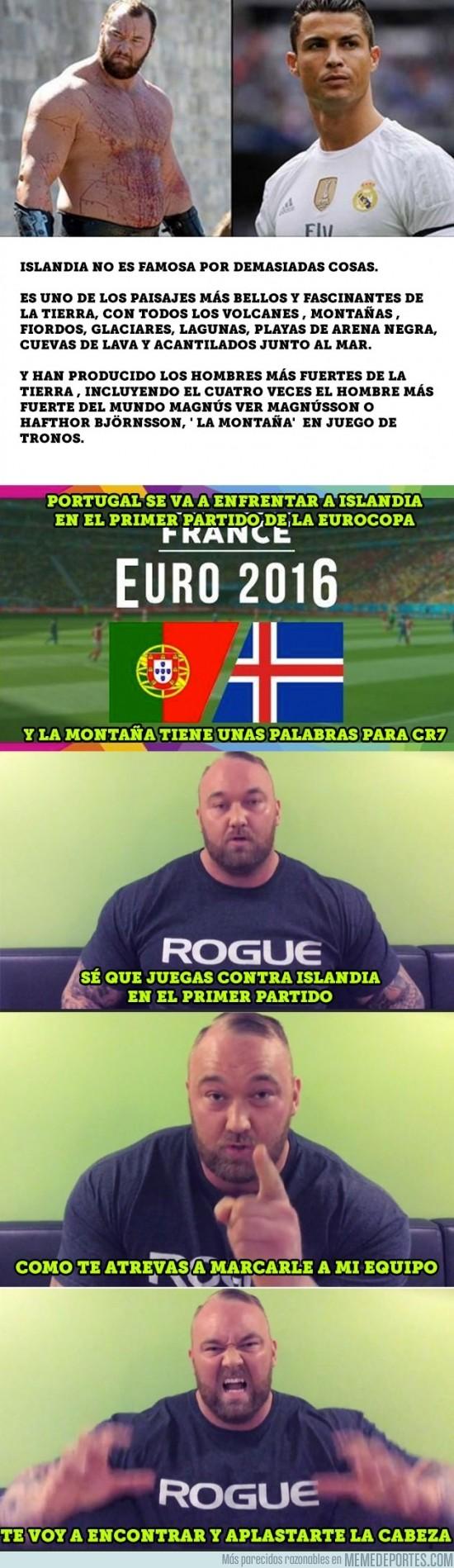 868653 - La Montaña de Juego de Tronos tiene un agresivo mensaje para Cristiano Ronaldo