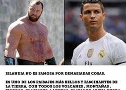Enlace a La Montaña de Juego de Tronos tiene un agresivo mensaje para Cristiano Ronaldo