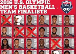 Enlace a Lista actualizada del equipo de que llevara USA a los JJOO