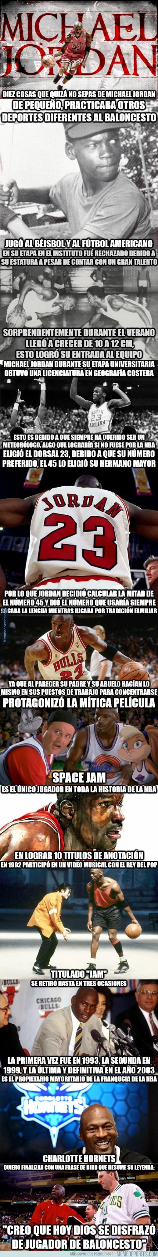 869088 - 10 cosas que quizá no sabías de Michael Jordan