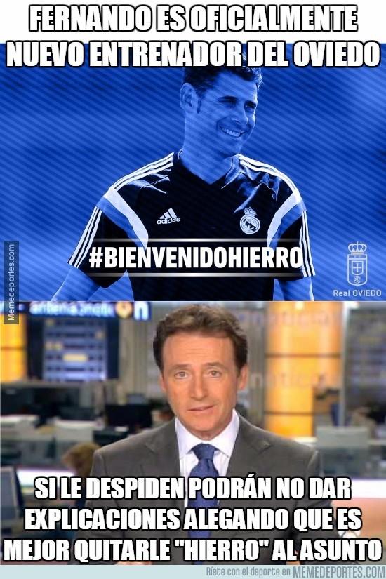 869357 - Fernando es oficialmente nuevo entrenador del Oviedo