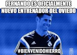 Enlace a Fernando es oficialmente nuevo entrenador del Oviedo