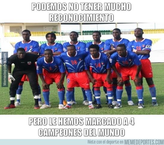 869570 - El gran logro de Haití a pesar de los 7 goles encajados