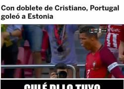 Enlace a ¿Qué dirán los culés de la goleada de Portugal a la todopoderosa Estonia?